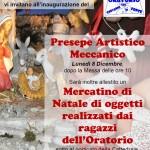 Inaugurazione Presepe & Mercatino
